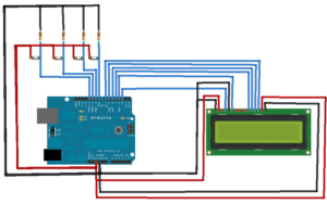 Arduino Tutorial: 20x4 I2C Character LCD display with