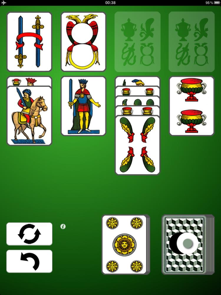 solitario carte napoletane